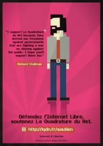 Stallman et la quadrature du net